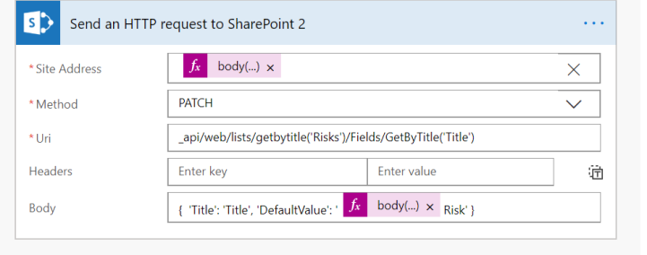 Project Online – Setting up default SharePoint field values